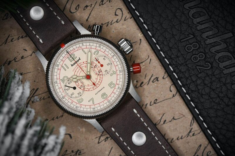 80 Years of a Military Icon, the Legendary Hanhart TachyTele Pilot's Chronograph