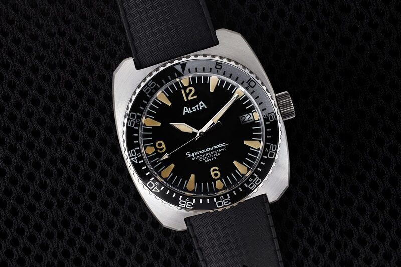 """Alsta Nautoscaph Superautomatic 1970 Re-Edition – The Watch of 1975 Movie """"Jaws"""" Reissued"""
