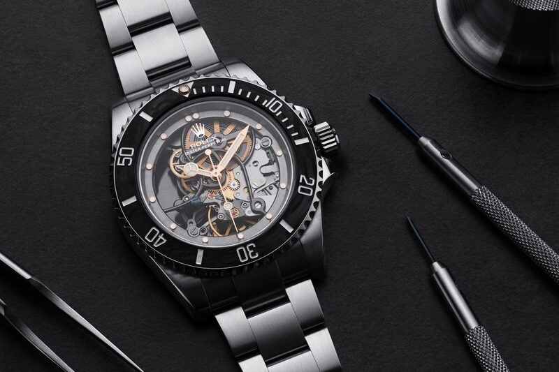 """Artisans de Genève """"Andrea Pirlo Project"""" – Showcasing Know-How with a Skeleton Rolex Submariner"""