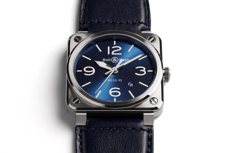 Bell & Ross BR 03-92 Blue Steel – The Urban Side of the Square Watch