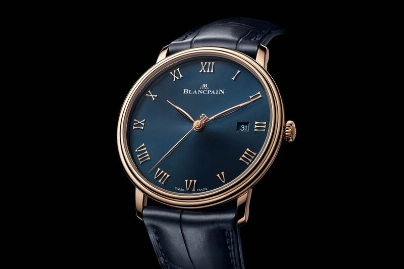 Blancpain Villeret Ultraplate 6651 in Red Gold with a Dashing Midnight-Blue Dial