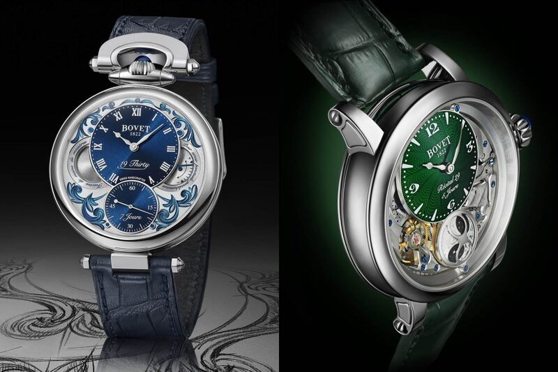 Bovet Introduces New Versions of the Fleurier 19Thirty and The All-New Dimier Récital 29