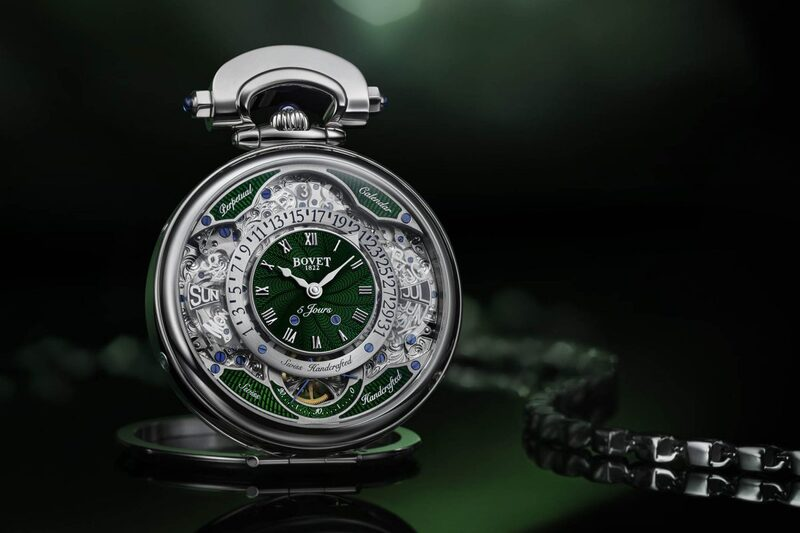 Bovet Virtuoso VII, Now with Vibrant Green or Red Guilloché Enamel Dials
