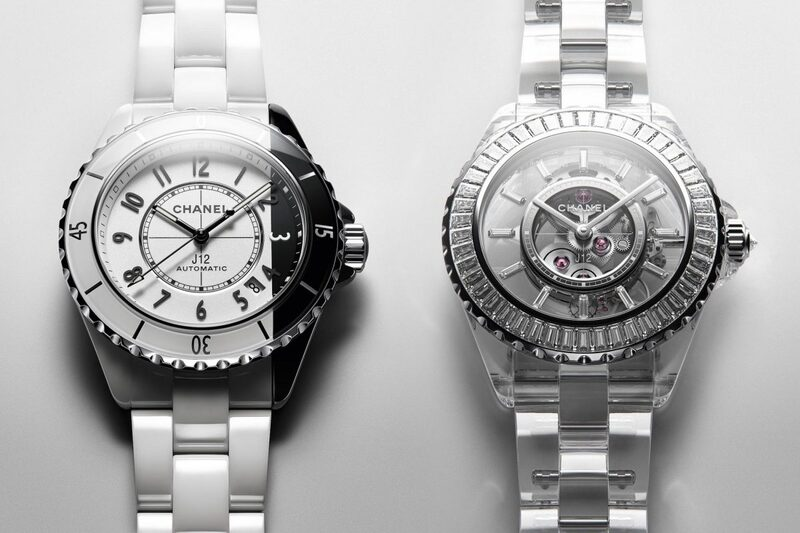 Chanel's new J12 Paradoxe and J12 X-Ray Watches (Incl. the First Watch with a Sapphire Bracelet)