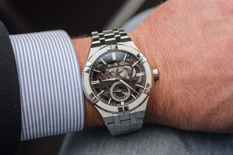 """Discovering the Maurice Lacroix Aikon Mercury and its Patented """"Free-Hand"""" Display"""