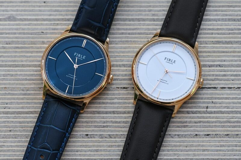 Firle Sennen Automatic, Elegant yet Accessible Enamel Dial Watches