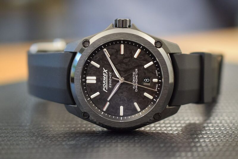 Formex Essence Leggera, a Complete COSC-Certified Carbon Watch for Less than 2K