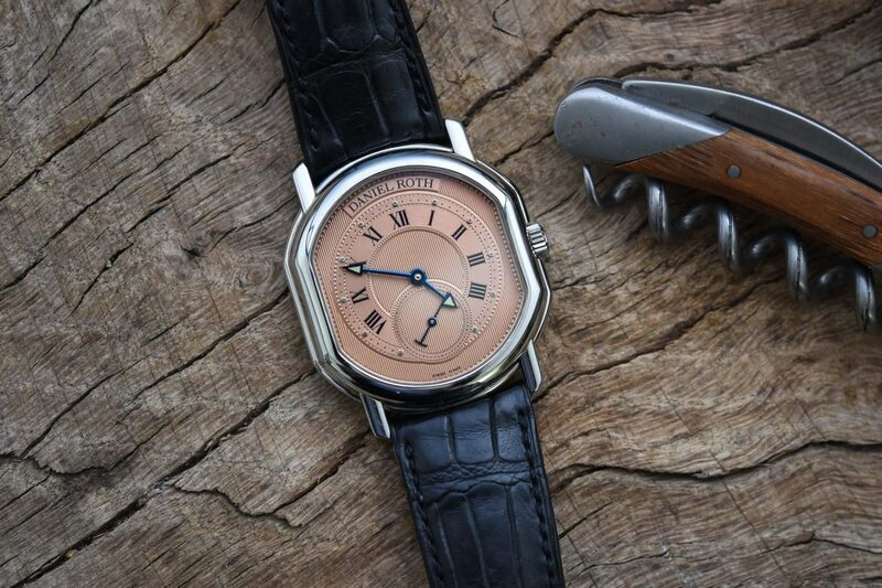 Frank and his Daniel Roth Small Seconds with Salmon Dial