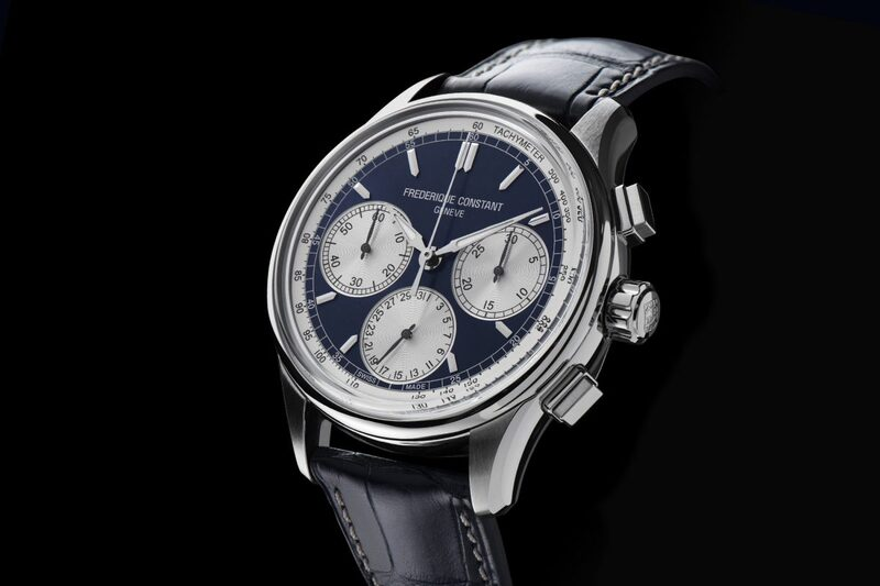 Frederique Constant Flyback Chronograph Manufacture, Now With Panda-Style Dials