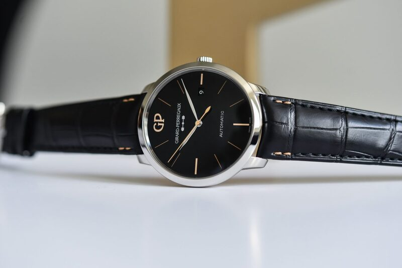 """Girard-Perregaux 1966 and Vintage 1945 Black Onyx """"Infinity Editions"""""""