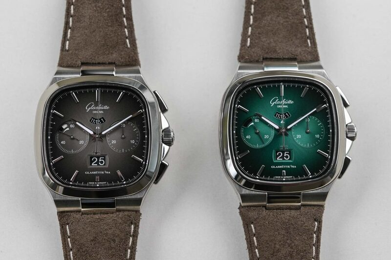 Glashütte Original Seventies Chronograph Limited Editions with Gradient Dials