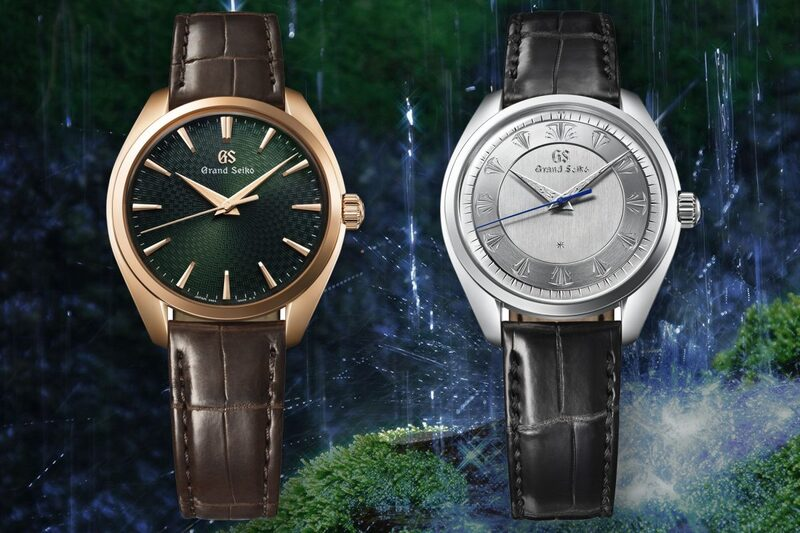 Grand Seiko 60th Anniversary SBGW263 & SBGW264 with Hand-Engraved Dials