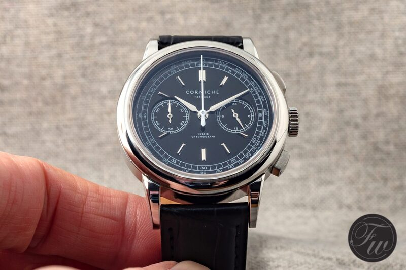 Hands-On With The Corniche Heritage Chronograph