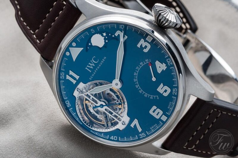 """Hands-On With The IWC Big Pilot Constant-Force Tourbillon Edition """"Le Petit Prince"""""""
