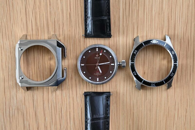 Hegid Watches, and its Concept of DIY Evolutive Watches (Live Photos)