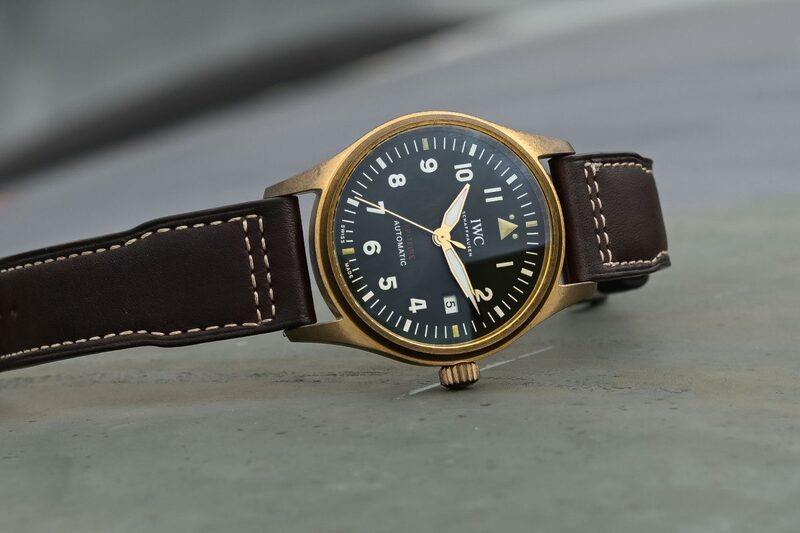 IWC Pilot's Watch Automatic Spitfire Steel or Bronze – Smaller and with In-House Movements