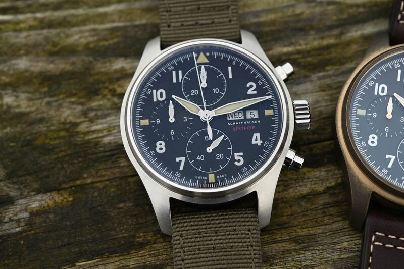 IWC Pilot's Watch Chronograph Spitfire 41mm also in Steel (ref. IW387901)