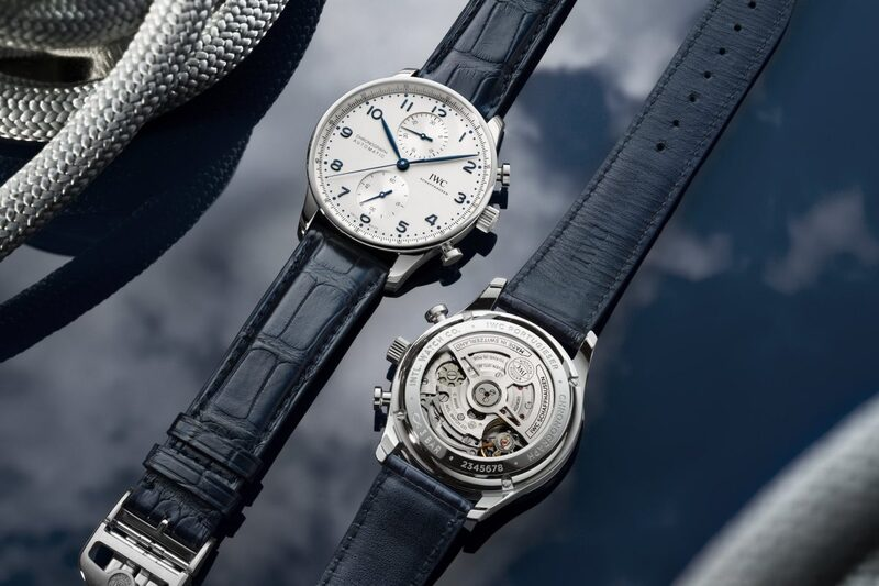 IWC Portugieser Chronograph, Now With In-House Movement (Ref. IW3716)