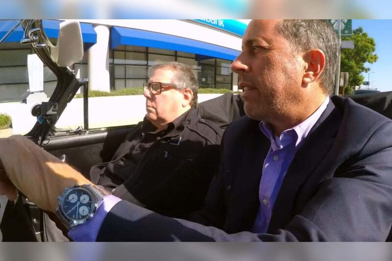 Jerry Seinfeld Rocking a Vintage Rolex 6239 Daytona with Solid Racing Provenance