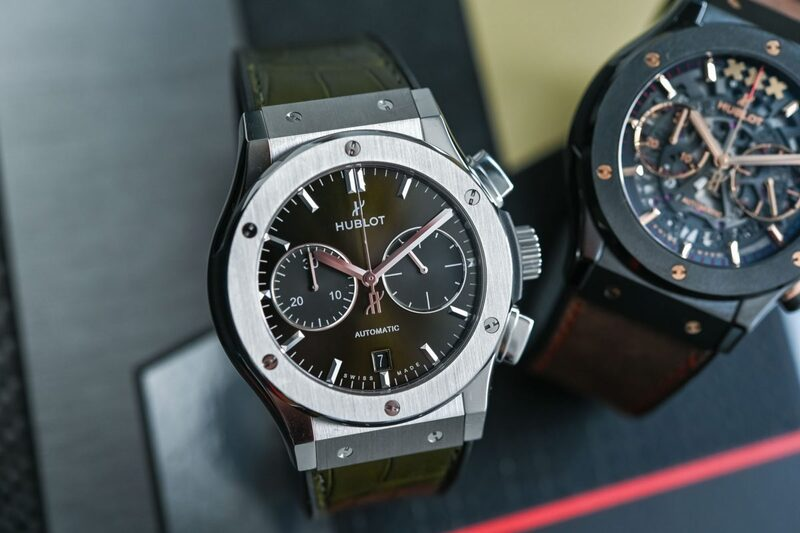 Learning to Love the Power of Being Different with Two Hublot Classic Fusion Chronographs