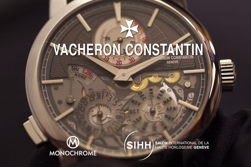 Live From SIHH 2019 – Christian Selmoni of Vacheron Constantin (incl. the Twin Beat)
