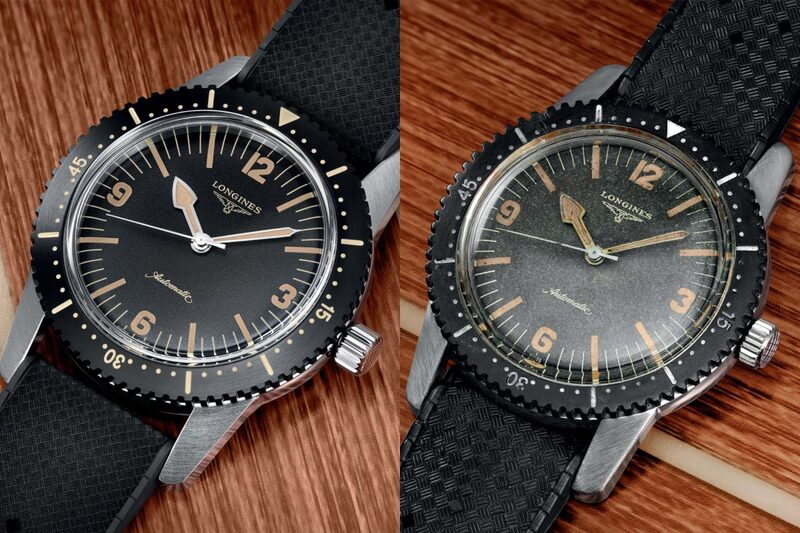 Longines Skin Diver Watch – Vintage and New Face-to-Face