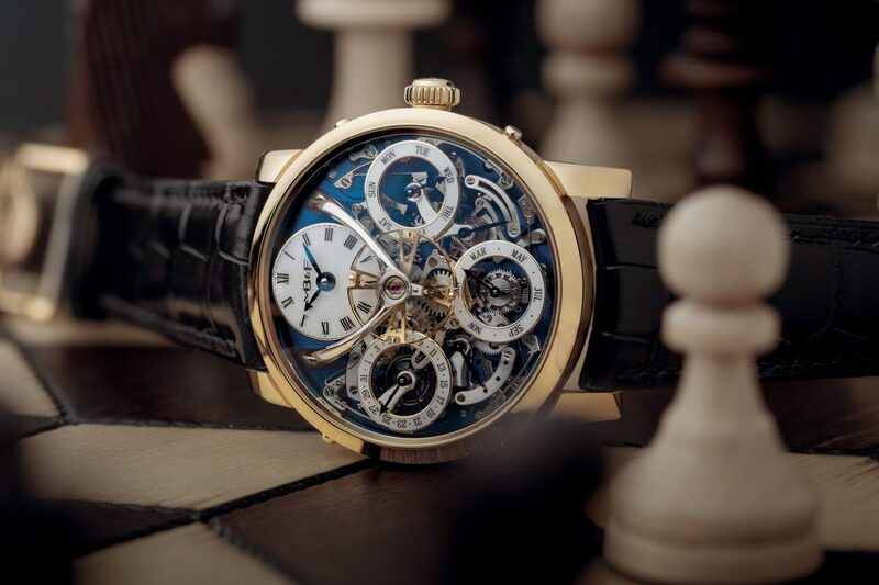 MB&F Legacy Machine Perpetual, now in Yellow Gold