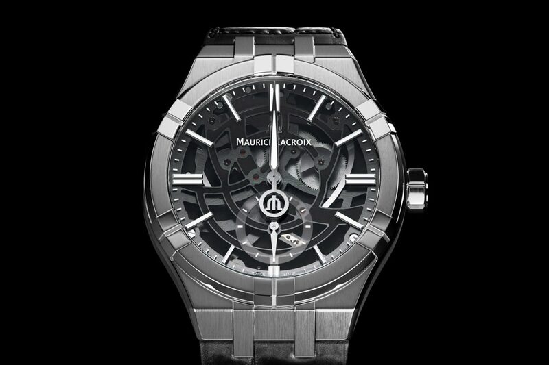 """Maurice Lacroix Aikon Mercury – with Patented """"Free Hand"""" Display"""