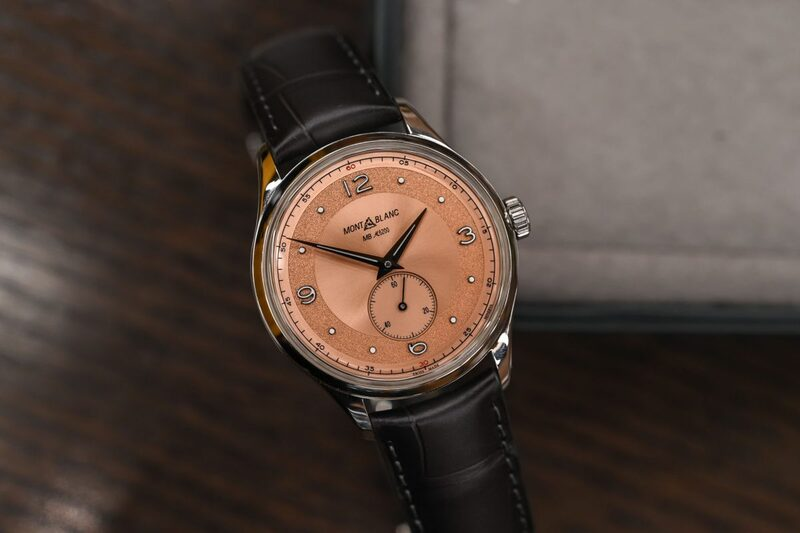 Montblanc Heritage Small Second Limited Edition 38, with a Historic Minerva Movement