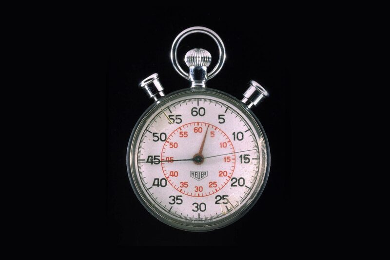 """Moon Landing 50 – The Other Watch of Apollo 11, The """"Mission Control"""" Heuer Stopwatch"""