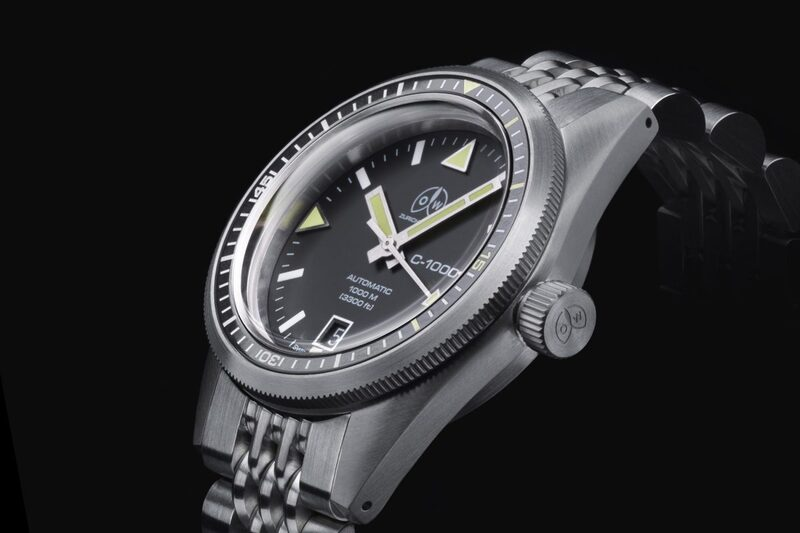 OW C-1000, Tribute to the Ollech & Wajs Caribbean 1000 Dive Watch