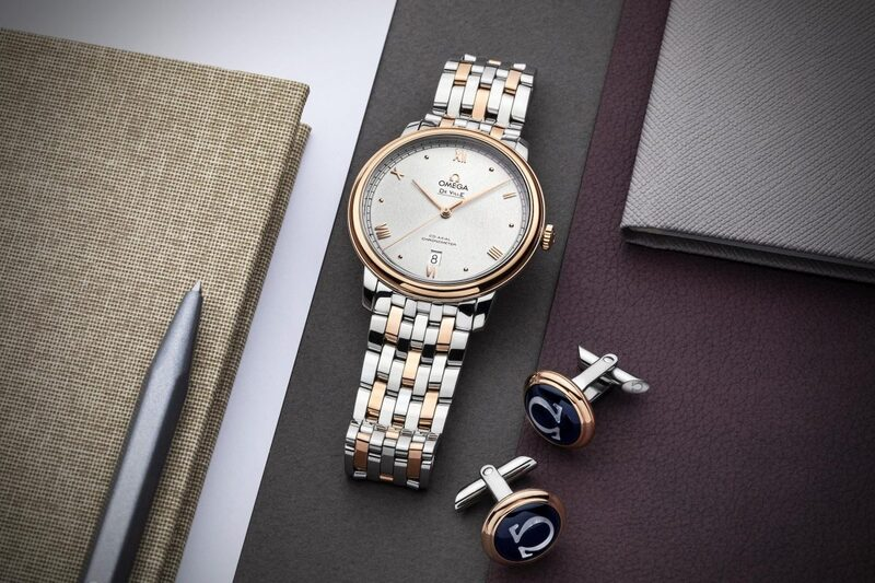 Omega Adds New Dials to the De Ville Prestige collection