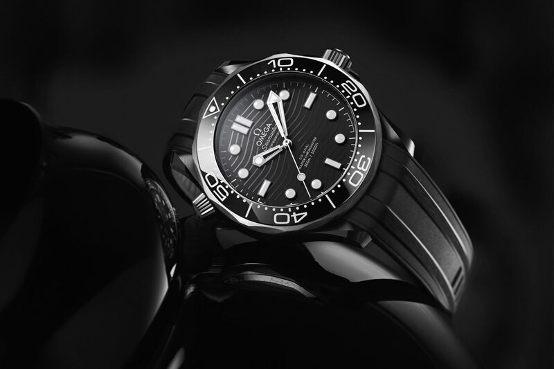 Omega Seamaster Diver 300M Ceramic-and-Titanium (and yes, it is a no-date watch)