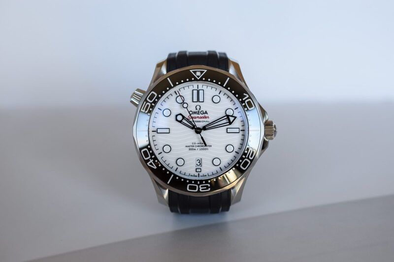 Omega Seamaster Diver 300M with White Dial