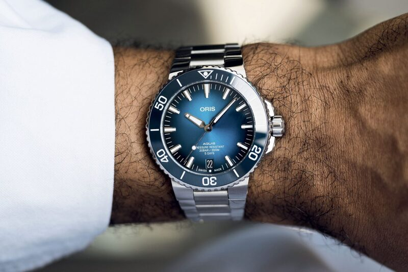 Oris Aquis Date Calibre 400, with the Brand's New Movement