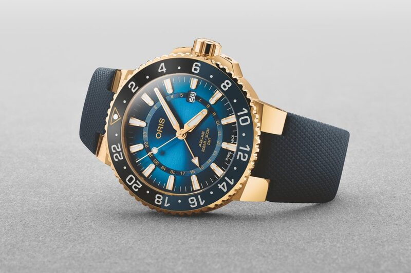 Oris Carysfort Reef Limited Edition – the Full Gold Aquis GMT