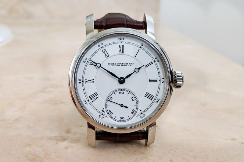 """RGM Classic Enamel PS-801-CE, The Pride of the """"American Made"""" Watch"""