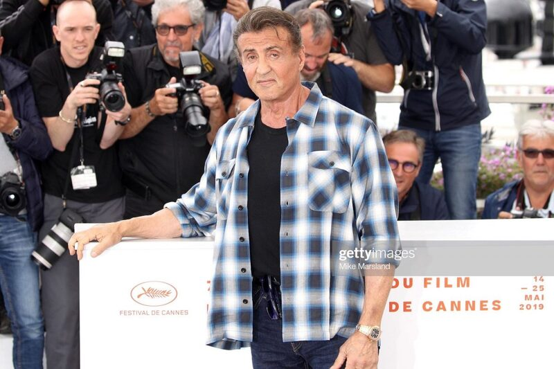 Recent Watch Sightings on Sylvester Stallone (Incl. a Salmon 5270P and CFB Watches)