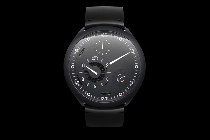 Ressence Type 2 e-Crown – The Final Version with Anthracite Case