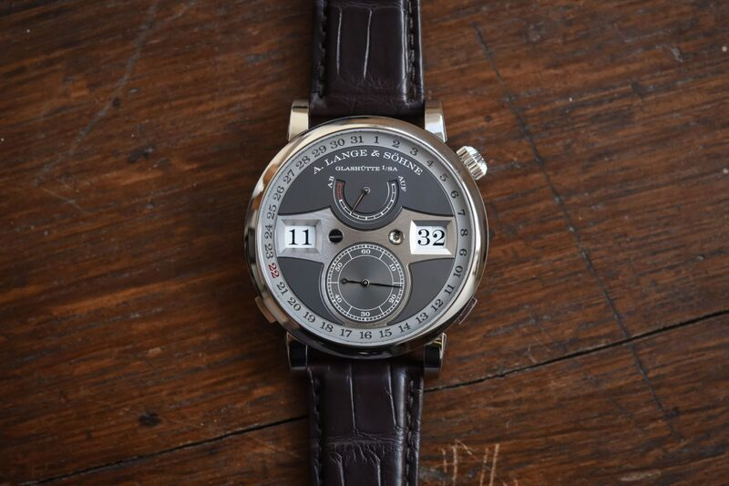 Review of the A. Lange & Söhne Zeitwerk Date