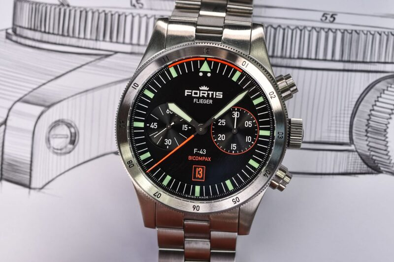 """Reviewing The New Fortis Flieger Collection, The """"Flieger Reimagined"""""""