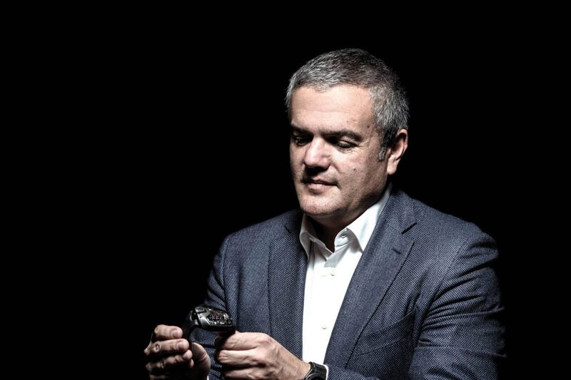 Ricardo Guadalupe, CEO of Hublot, During the LVMH Watch Week