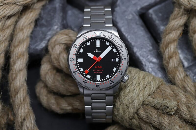 Sinn U50, The Smaller Version of The U1 Diving Instrument (Live Pics & Pricing)