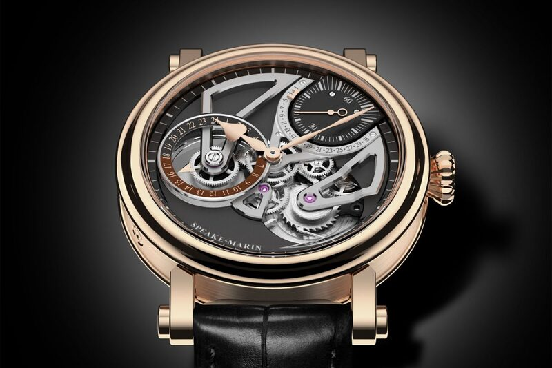 Speake-Marin One&Two Openworked Dual Time