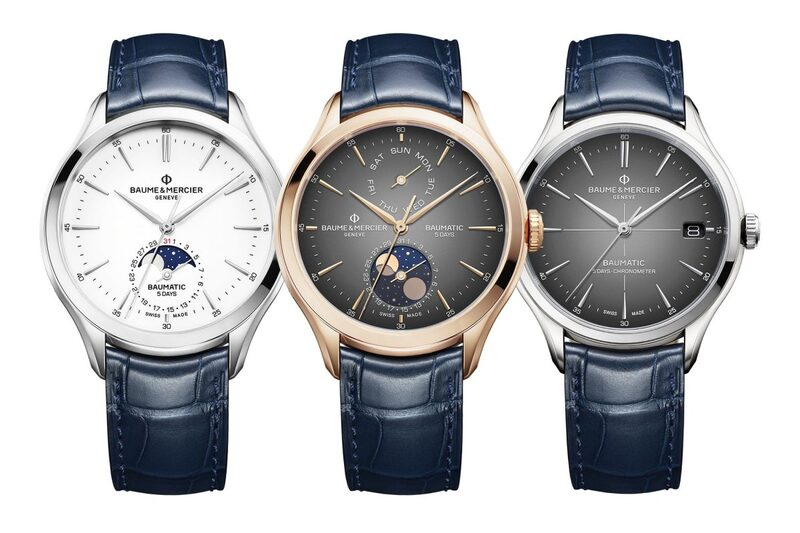The 2020 Baume & Mercier Baumatic Collection with New Displays