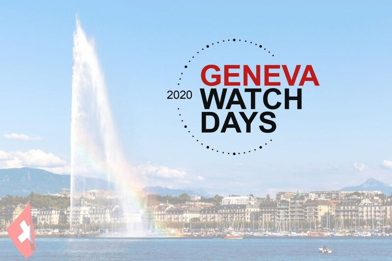 """The """"Geneva Watch Days 2020"""" Postponed to August 26th-29th 2020"""
