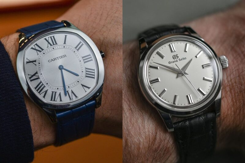 The Battle of Elegant Time-Only Watches Part 3 – Drive de Cartier Extra-Flat vs. Grand Seiko SBWG231 – The Verdict