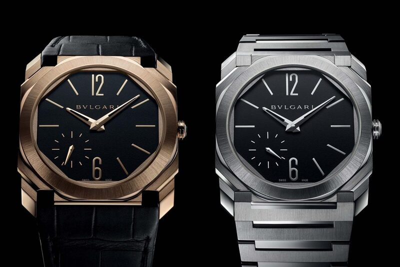 The Bvlgari Octo Finissimo Automatic Satin-Polished Collection
