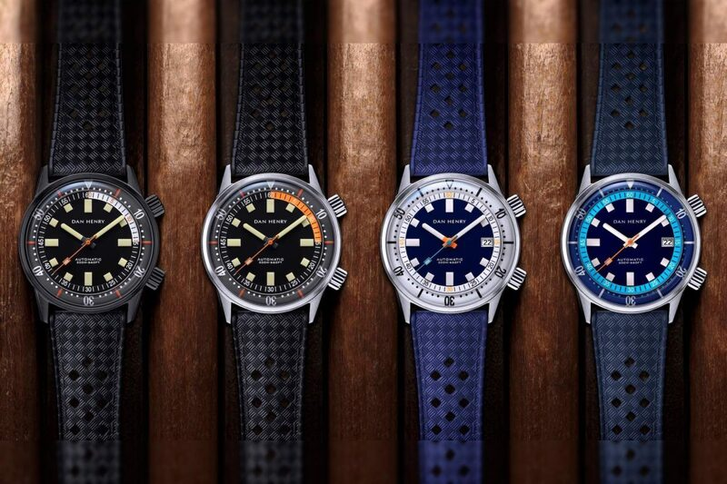 The Cool And Accessible Dan Henry 1970 Automatic Diver 40mm, Now in 4 New Colors