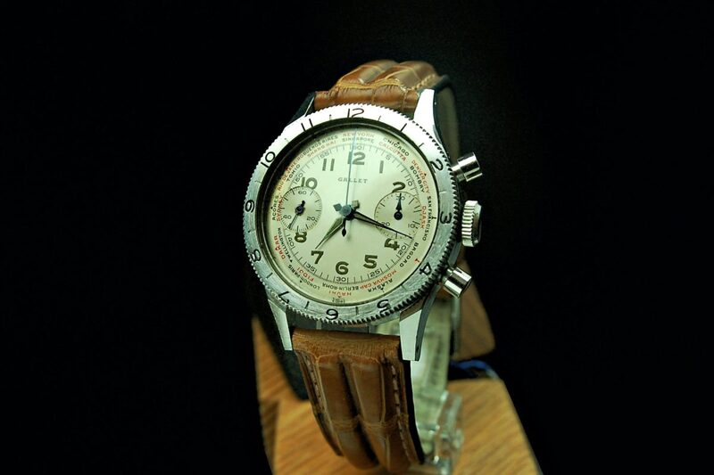 The Gallet Flying Officer – One Fascinating Pilot's Chronograph